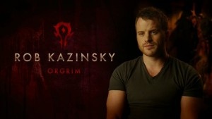Rob Kazinsky sera Orgrim (pas encore Doomhammer), bras droit de Durotan