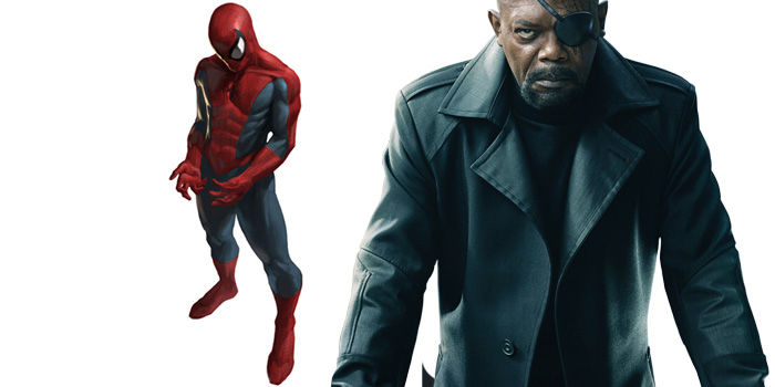 Marvel-Spider-Man-and-Nick-Fury-Samuel-L-Jackson