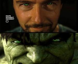 Edward Norton : Bruce Banner / Hulk