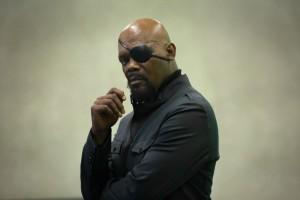 Samuel L. Jackson : Nick Fury, directeur du SHIELD